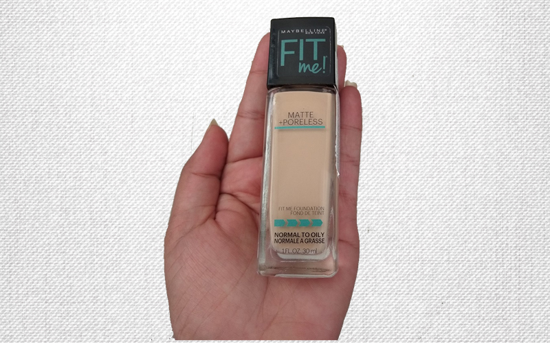 Maybelline Fit Me Foundation Review (128 Warm Nude Shade)