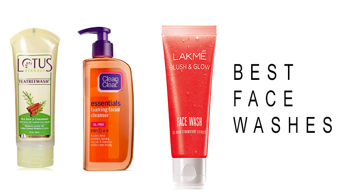 List of 10 Best Face Washes for Oily Skin