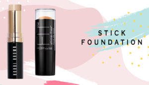 stick foundation for dry skin