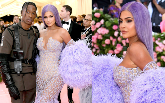 kylie jenner met gala dress