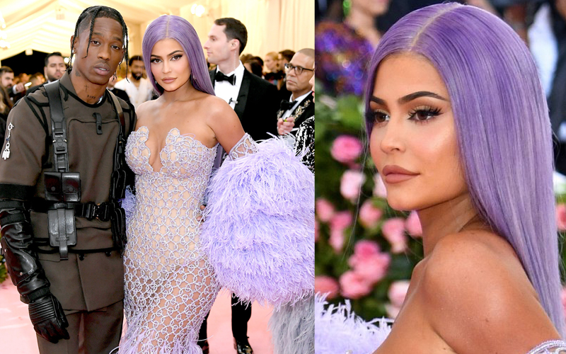 kylie jenner and travis scott met gala 2019