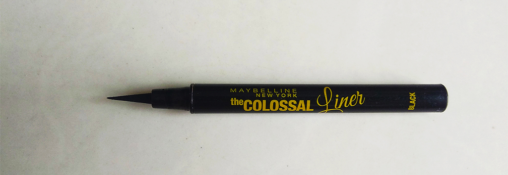 maybelline colossal black eyeliner