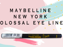 maybelline colossal liner review