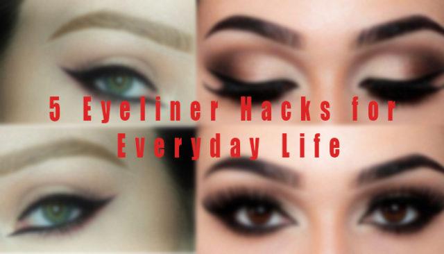 eyeliner hacks every girl should know