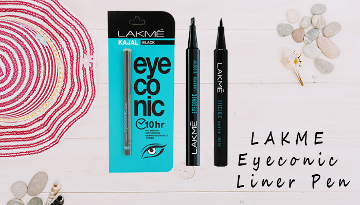 Lakme Eyeconic Liner Pens Review – Fine Tip and Block Tip
