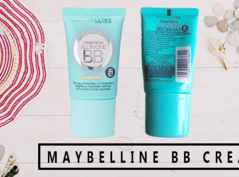 maybelline clear glow bb cream review
