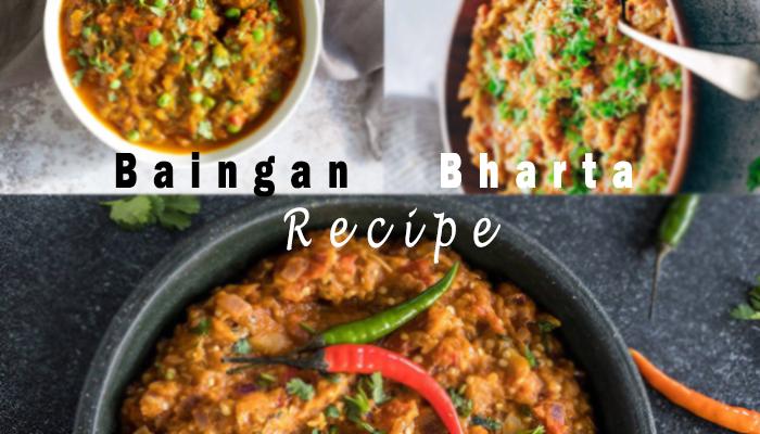 Step By Step Baingan Bharta Recipe (Punjabi Eggplant)