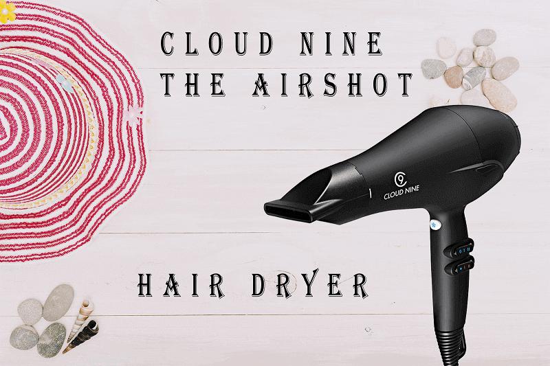cloud nine the airshot hair dryer