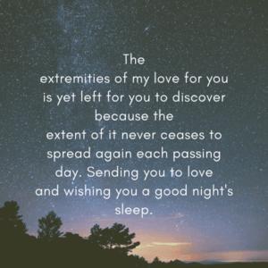 good night love wishes