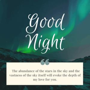 good night love wishes to boyfriend